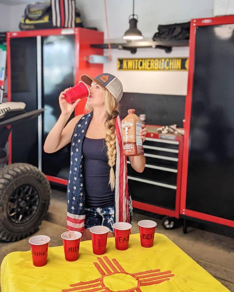 Milk Flip Cup Raises Money for Feeding America